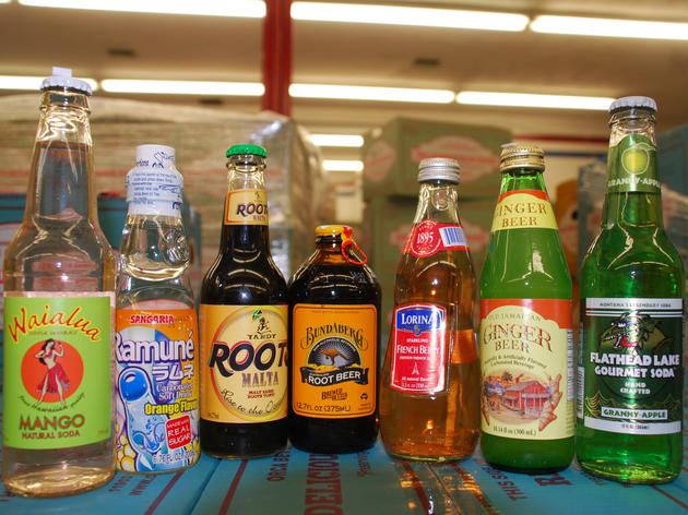 Vintage soda pop (Photograph: Brenda Rees)