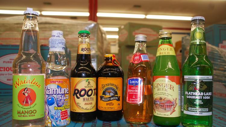 Vintage soda pop (Photograph: Brenda Rees)