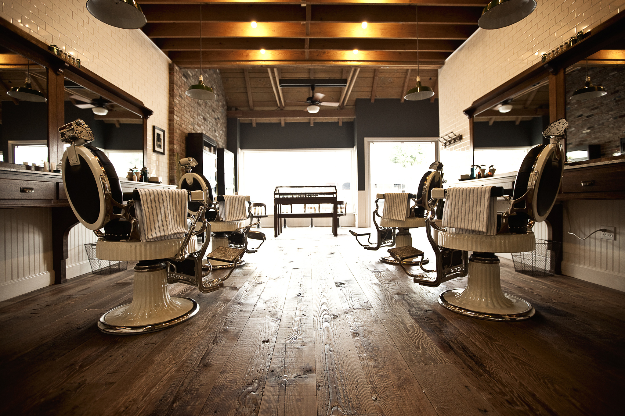 Best shops in la the city 39 s best beauty boutiques - Barber shop interior ...