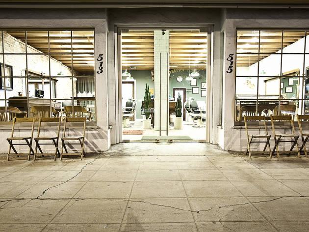 Baxter Finley Barber & Shop (Photograph: Josh Giroux)