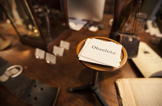 Obsolete (Photograph: Jakob N. Layman)