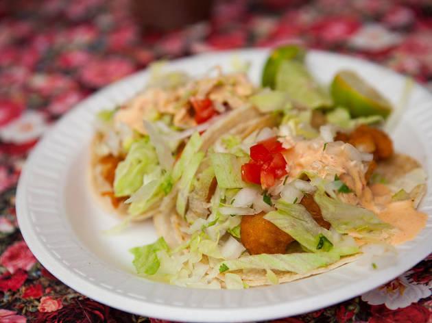 Tacos Delta (Photograph: Jakob Layman)