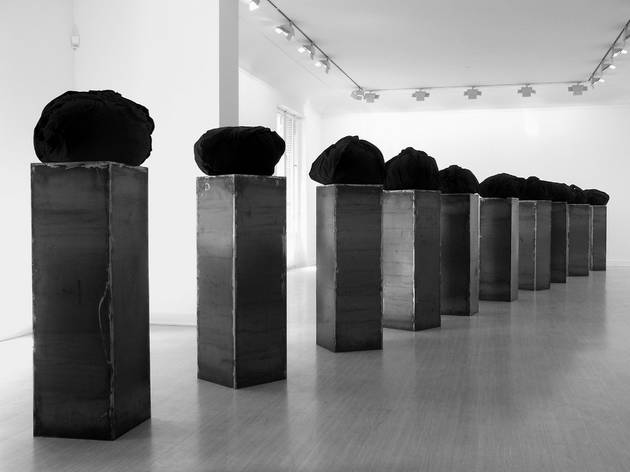 (Jannis Kounellis, 'Sans titre', 2003 / Adagp, Paris 2012 / Courtesy galerie Lelong, Paris)