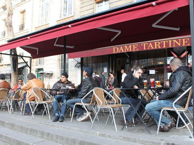 Terrasse •Dame Tartine
