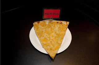 Mac-and-cheese slice from Hell's Kitchen Pizza