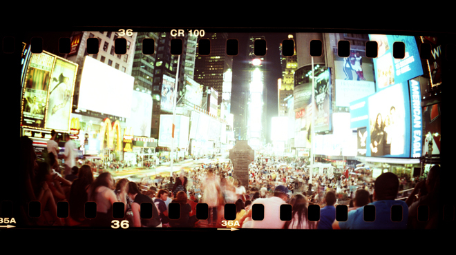 Photo tour of Times Square