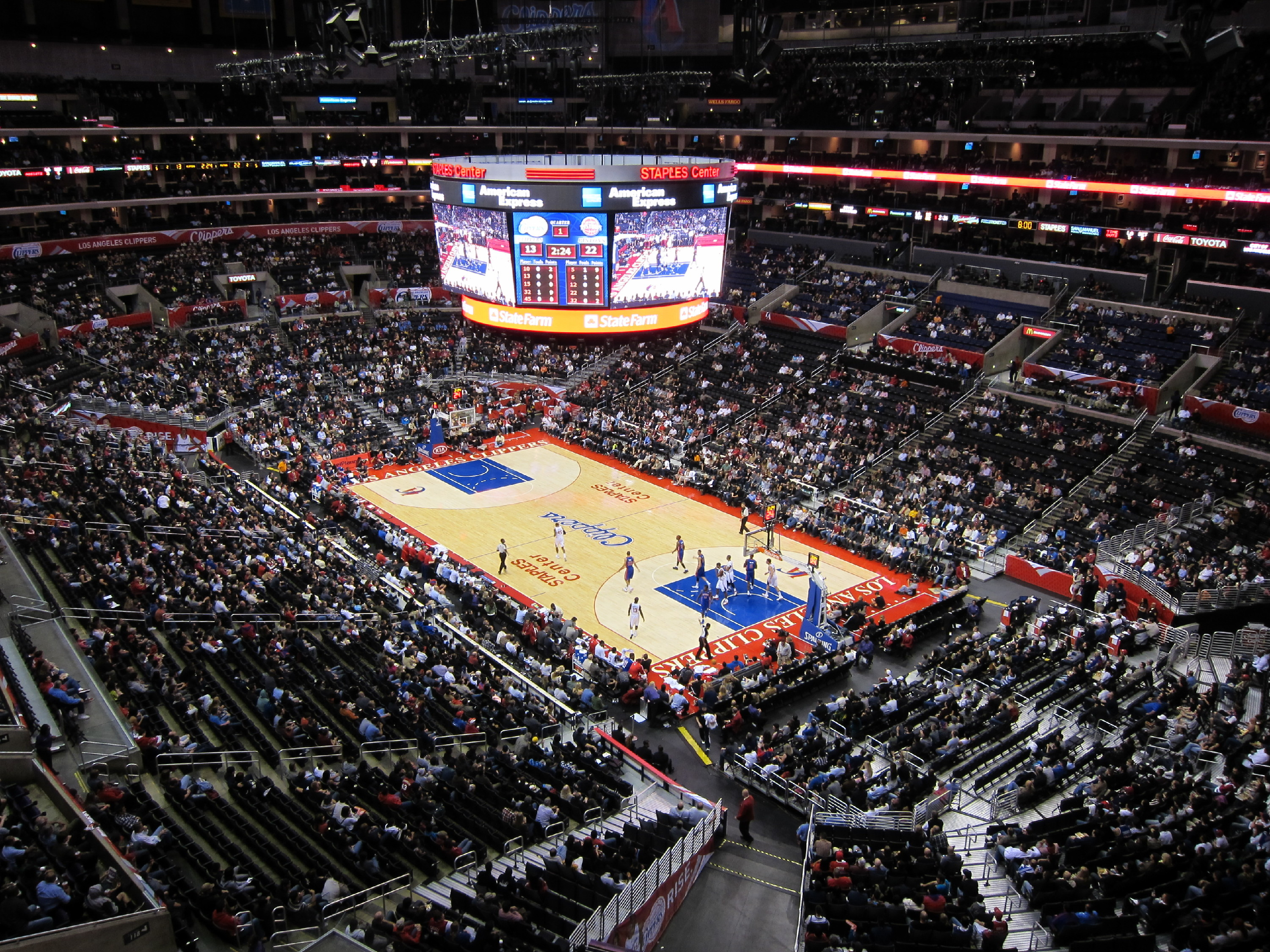 Staples Center Things To Do In South Park Los Angeles