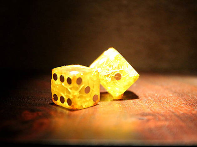 Museum of Jurassic Technology: Ricky Jay Dice