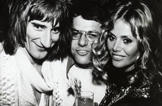 Rod Stewart, Joe Smith and Britt Ekland