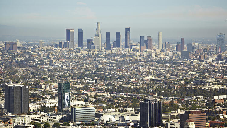 Area guide: View from Runyon Canyon