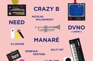 Crazy et Need (Birdy Nam Nam) + DVNO + Manaré