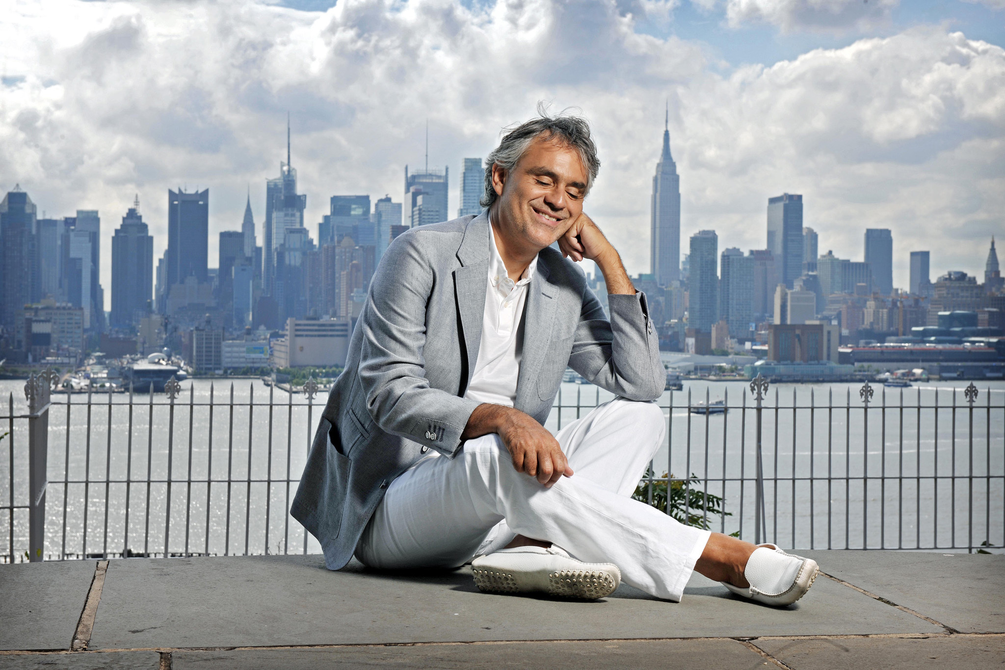 Andrea Bocelli live at the AmericanAirlines Arena