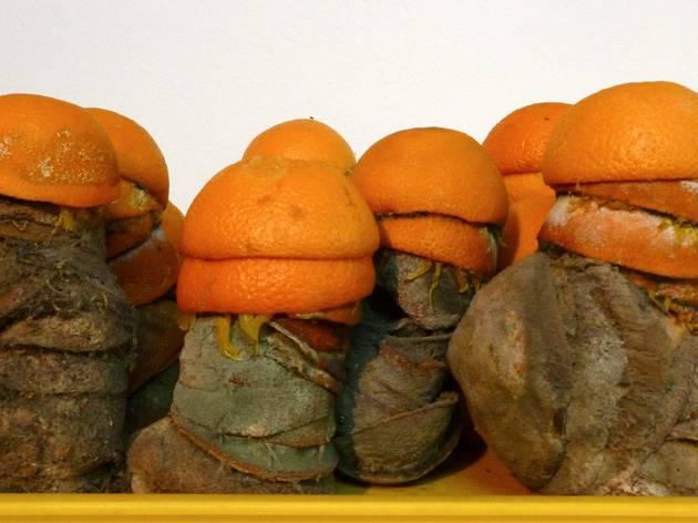 ('Sculpcure : bar à oranges' (détail), 2009 / © TB - Time Out)