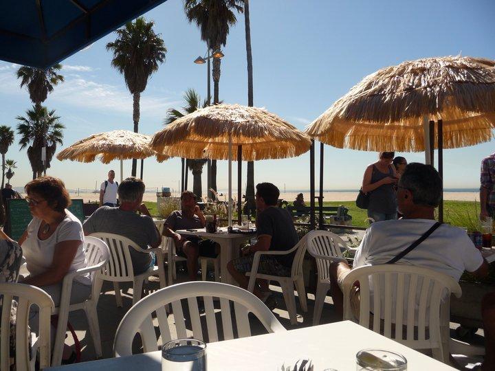 Fazer exercício em Venice Beach (e parar para almoçar)