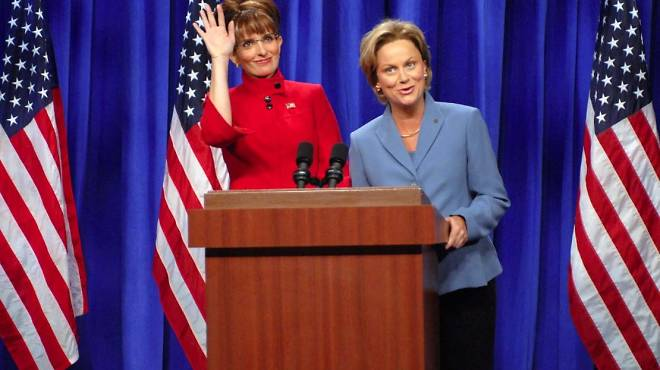 Remember when Fey and Poehler were on SNL together? Good times.