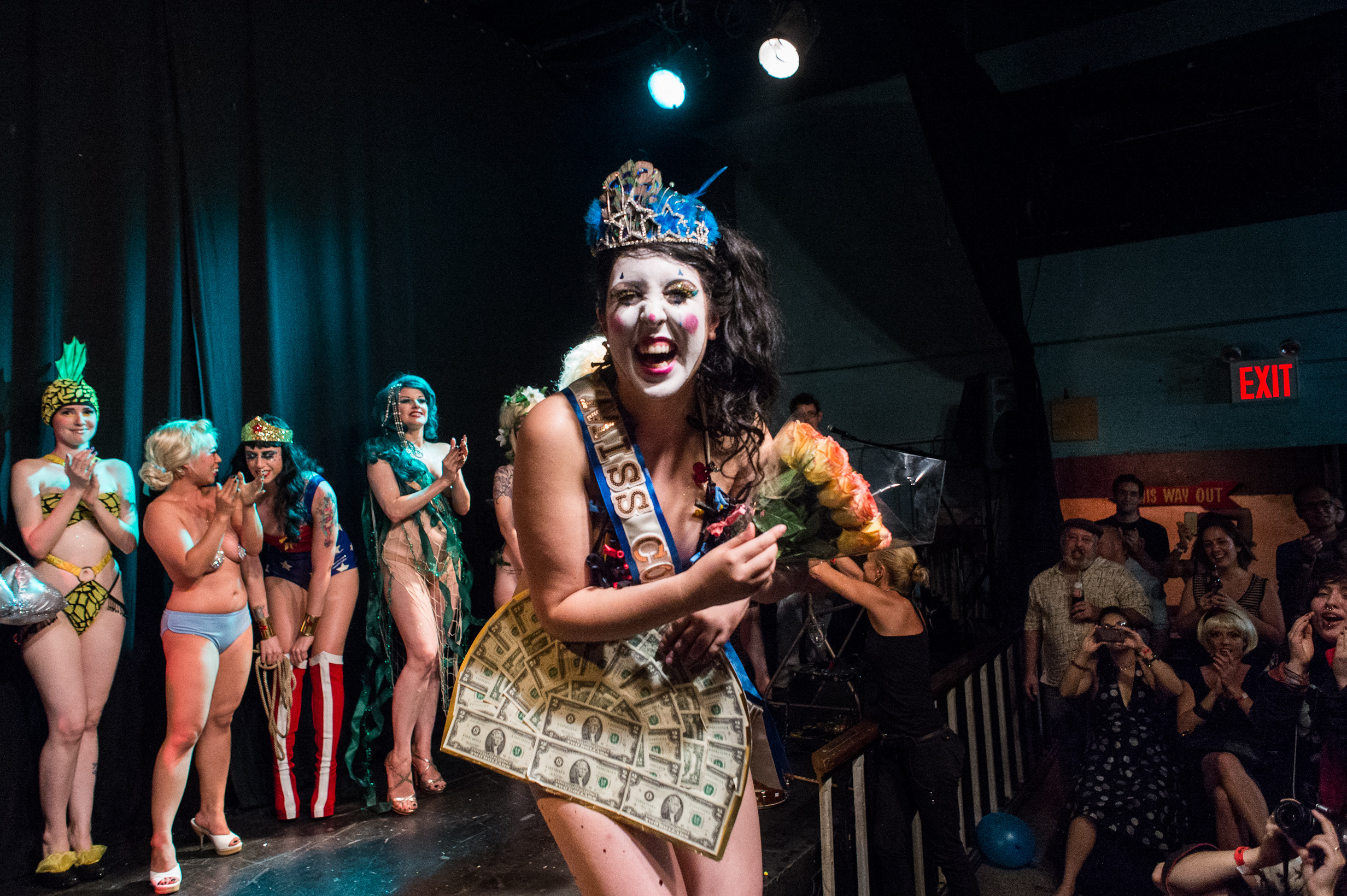 Be amazed during the Coney Island Circus Sideshow