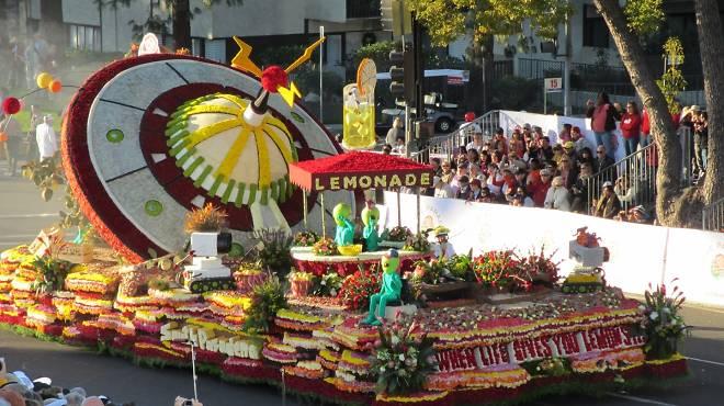Festivals & events: Tournament of Roses Parade.