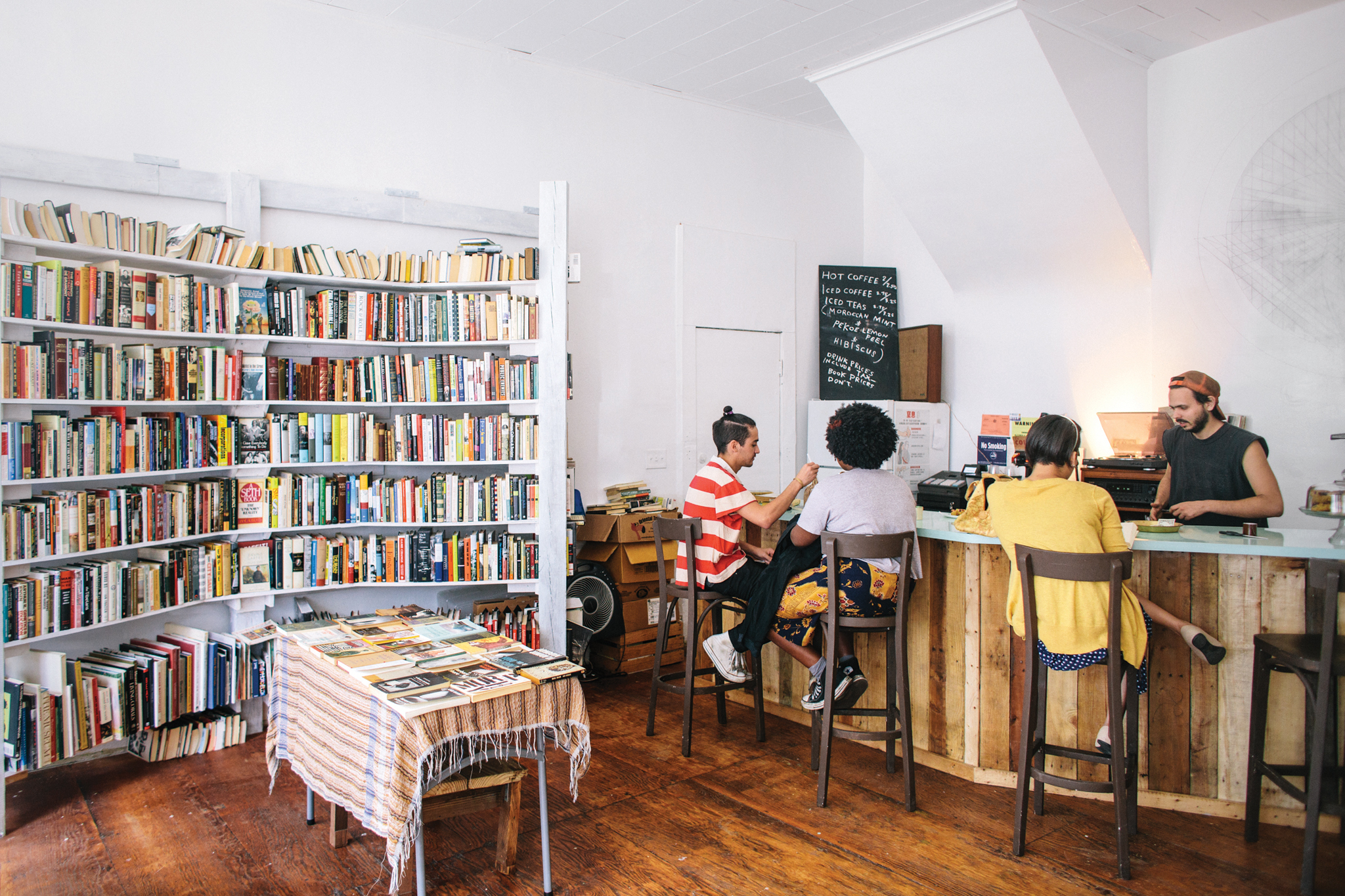 Bushwick indie bookseller Molasses Books