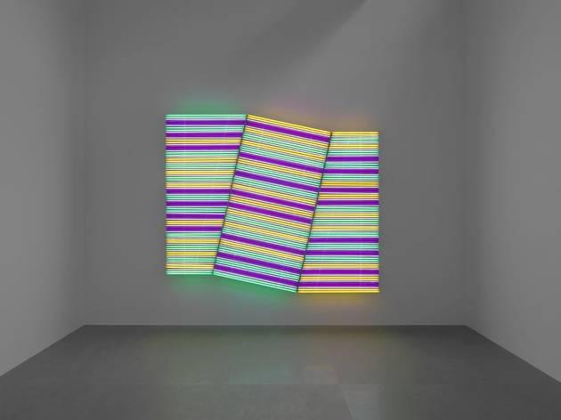 (Baft III, 2011 Tubes en néon Galerie Xavier Hufkens, Bruxelles © Allard Bovenberg, Amsterdam Beaunotte/)