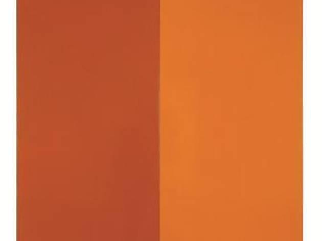 (Mandarine par Tollens et V33, 1974/2012 Peinture acrylique sur mur, dimensions variables Collection de l'artiste © André Morin)