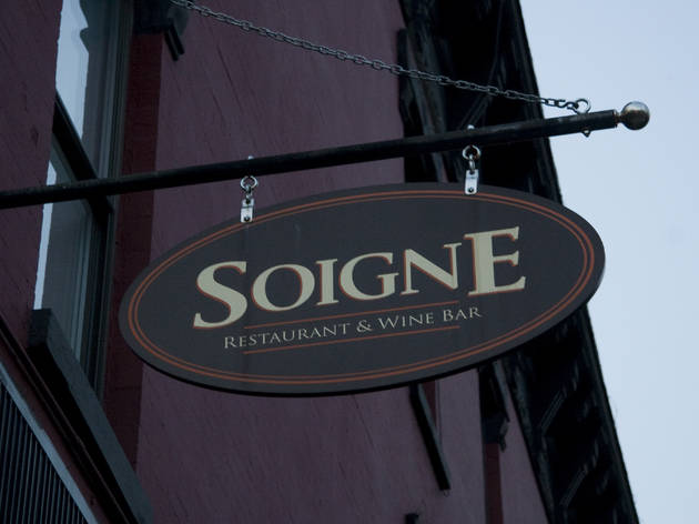 Soigne Restaurant & Wine Bar