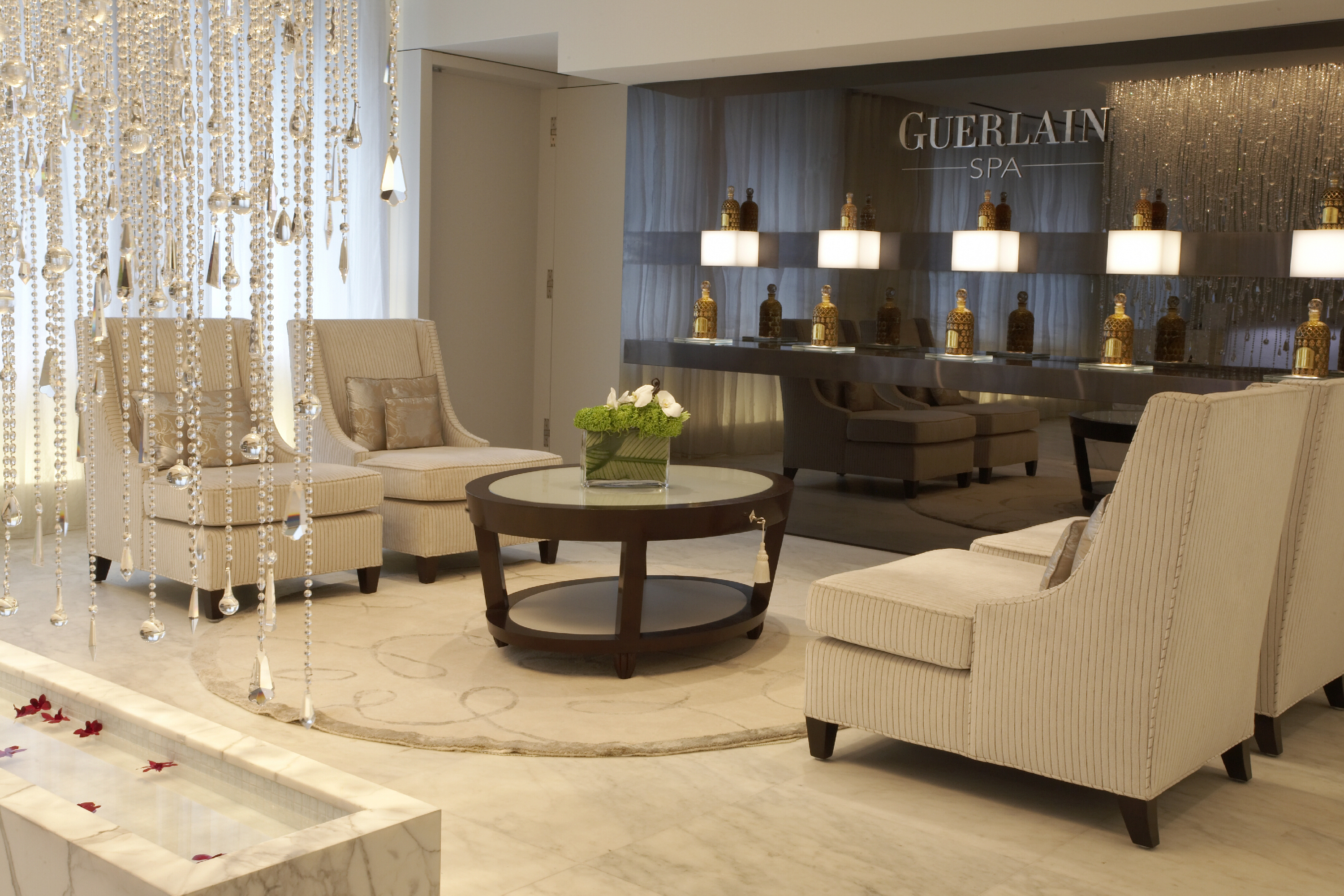 37% off a spa day with champagne at The Waldorf-Astoria Guerlain Spa