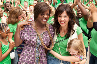 Viola Davis, left, and Maggie Gyllenhaal in Won't Back Down