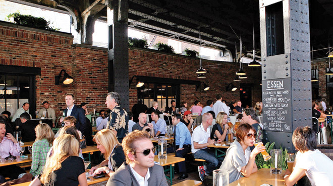 The best beer gardens and beer halls in New York City