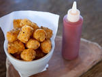 Duck-fat fried Tater-Tots at Northeast Kingdom
