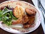 Fried chicken at Bobwhite Lunch and Supper Counter