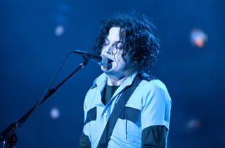 Jack White (Photograph: Virginia Rollison)