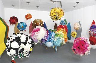 """Mike Kelley: Deodorized Central Mass with Satellites"""