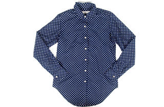 Raleigh cotton-and-silk polka-dot top, $205