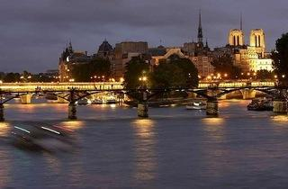 Paris Seine nuit