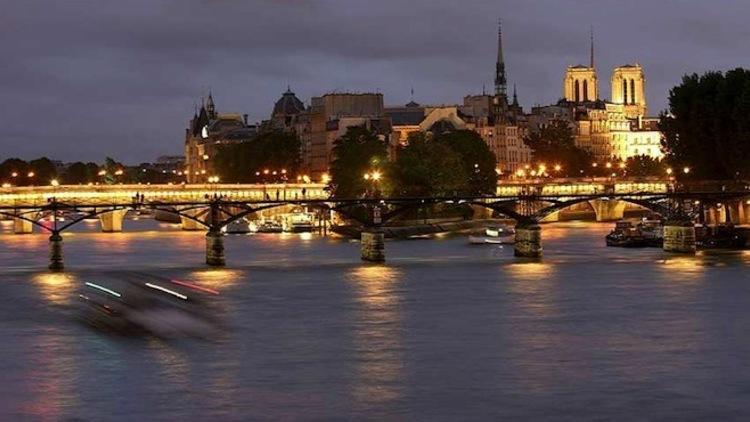 Paris Seine nuit