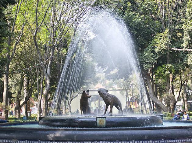 Fuente de los Coyotes de Coyoacán