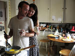 Aaron Paul and Mary Elizabeth Winstead in Smashed