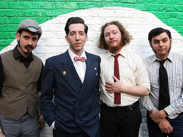 Pokey LaFarge & The South City Three + David Carroll