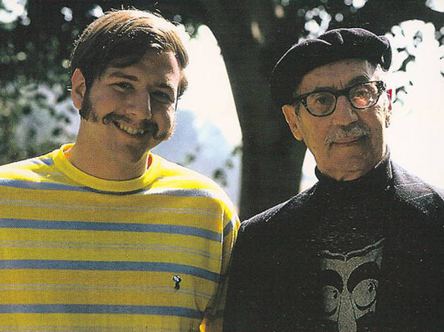 Steve Stoliar and Groucho Marx