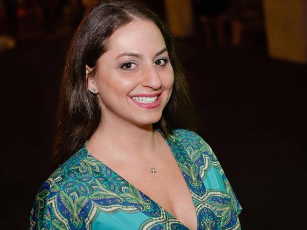 Lindsay at Match.com Stir event