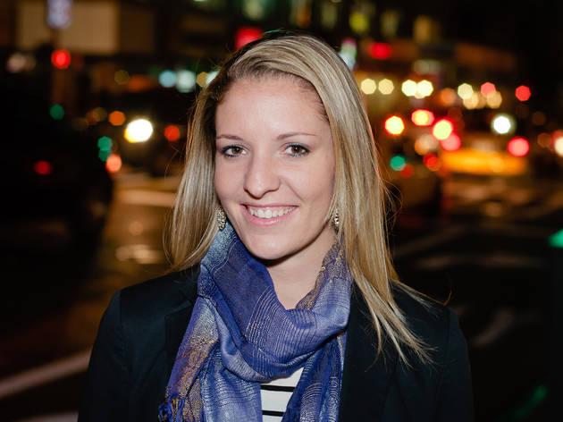 Natalie at Match.com Stir event