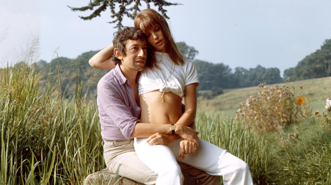 Sexiest song hitmakers Serge Gainsbourg and Jane Birkin: Making love for the benefit of your record player