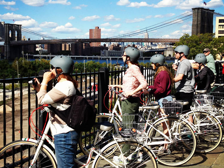 The best bike tours in NYC