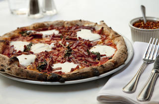 Diavolo pizza at Zero Otto Nove