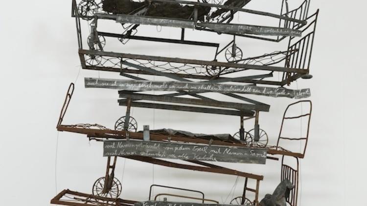 'Himmelsschlucht', 2011-2012 / © Charles Duprat / Courtesy de la galerie Thaddaeus Ropac / Anselm Kiefer