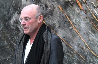 (Anselm Kiefer à la galerie, le jour du vernissage / © TB - Time Out)