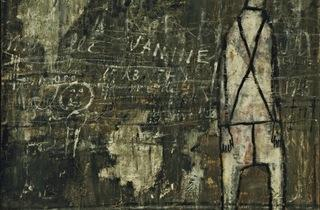 (Jean Dubuffet, 'Mur aux inscriptions', avril 1945 / The Museum of Modern Art, New York © 2012 / © ADAGP, Paris 2012)