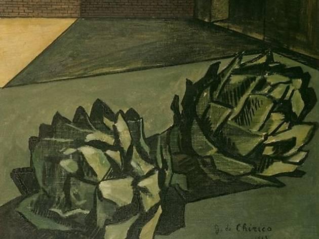 (Giorgio de Chirico, 'Mélancolie d'un après-midi', 1913 / © Centre Pompidou, MNAM-CCI, Dist. RMN / Jean- Claude Planchet / © ADAGP, Paris 2012)