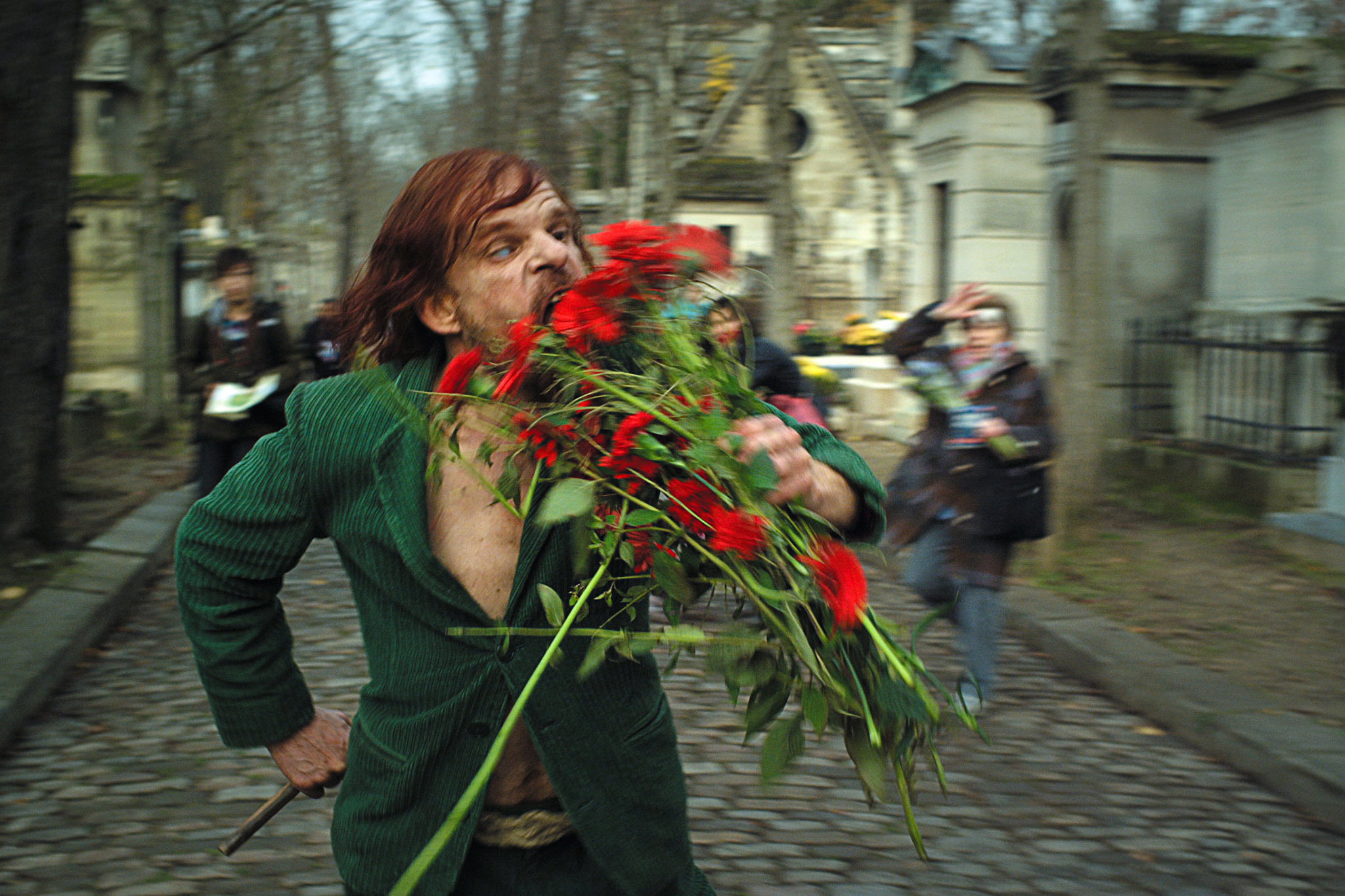 Denis Lavant in Holy Motors