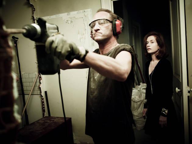 Benoit Poelvoorde and Isabelle Huppert in My Worst Nightmare